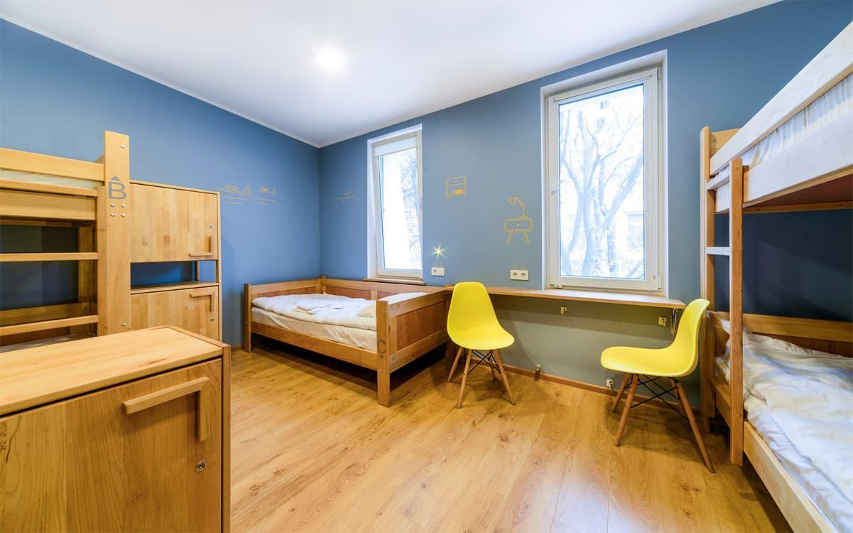 Цена хостела за комнату